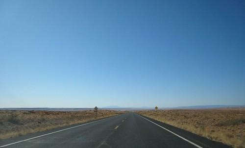 REZ, vanishing point, highway, yellow line,… IMG_1370