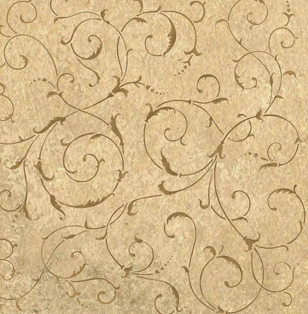 Allover Wall stencil Scroll. Beautiful wall stencils by Cu…  Flickr ...
