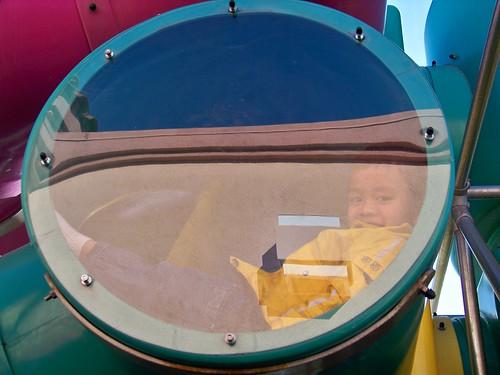 Elijah at McDonald's Playland