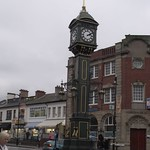 Joseph Chamberlain Memorial Clock and the Barclays Bank - Jewellery Quarter, Birmingham