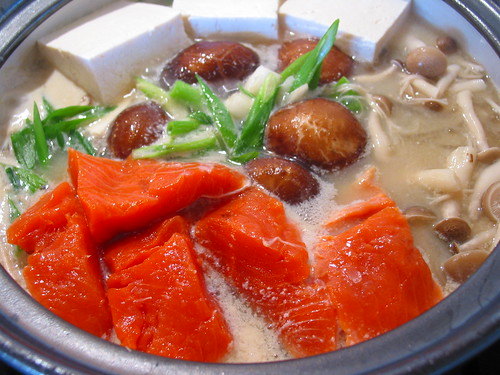 Ishikari Nabe - Salmon Hot Pot by sierravalleygirl