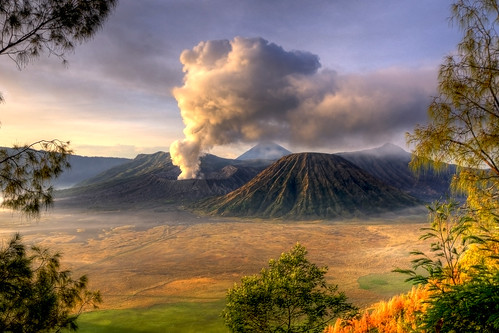 christmas indonesia landscape java asia december east 25th 2009 bromo