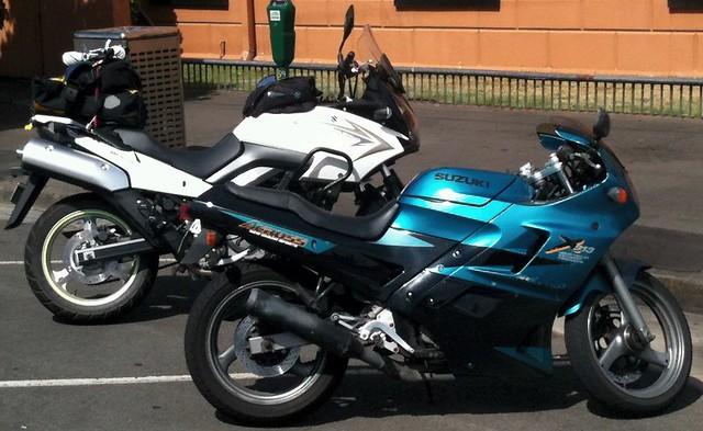 Suzuki Across and Vstrom 04