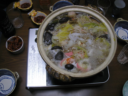 Seafood nabe