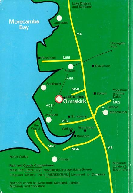 Undergraduate Prospectus 1983-84 Map