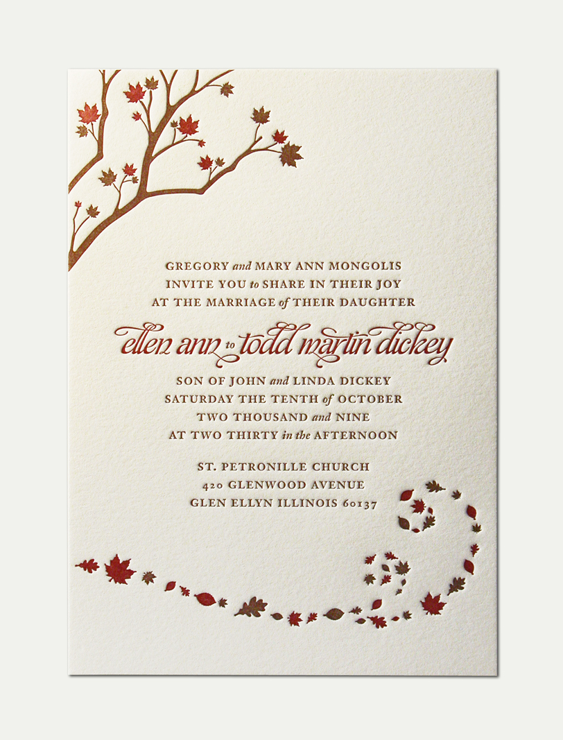 Formal Wedding Invitation Examples is nice invitations layout