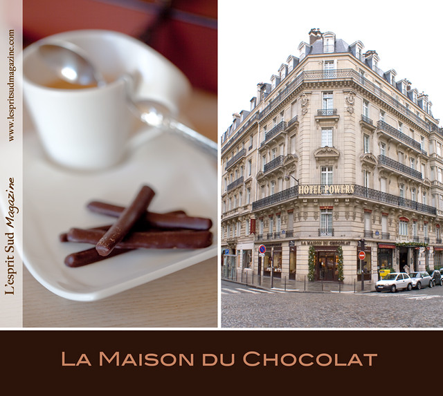La Maison du Chocolat - Orangettes and store (Paris)