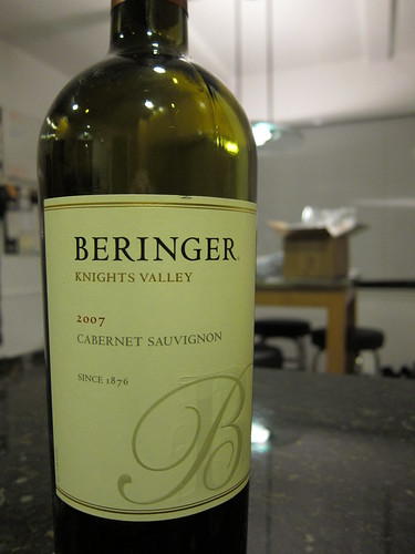 Beringer, Knights Valley, 2007, Cabernet, S… IMG_0017
