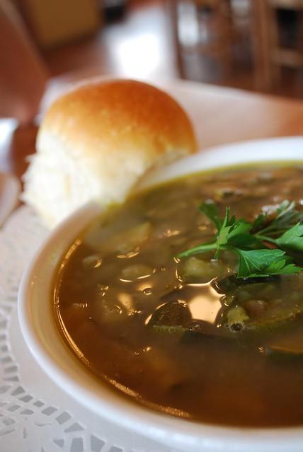 Zucchini, Celery, Lentil Soup - Kinglake Harvest Cafe AUD6 | Flickr ...