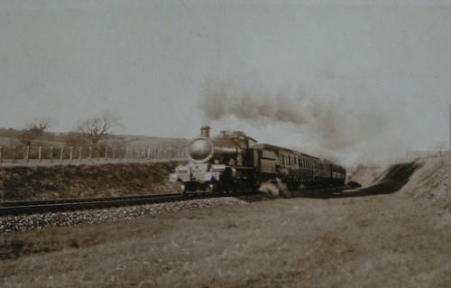 Great Western Train - 1920 by Stocker Images