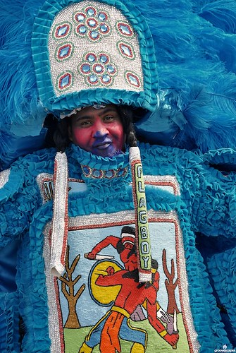 Mardi Gras Indians on Super Sunday 2010 by groovescapes