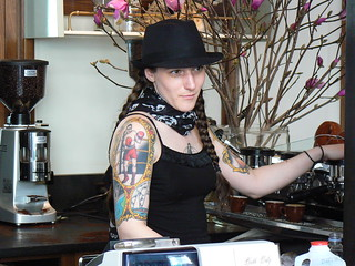 Manager Lizz Hudson, Stumptown Coffee, Ace Hotel, W 29th St