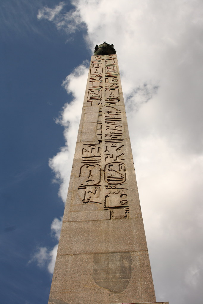They symbolized the first country who stood up during creation of the world where the sun at creation of the world appeared in its first sunrise.  Obelisks became associated with timelessness and memorialization.