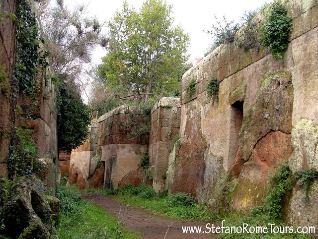Cerveteri - Banditaccia Etruscan Necropolis