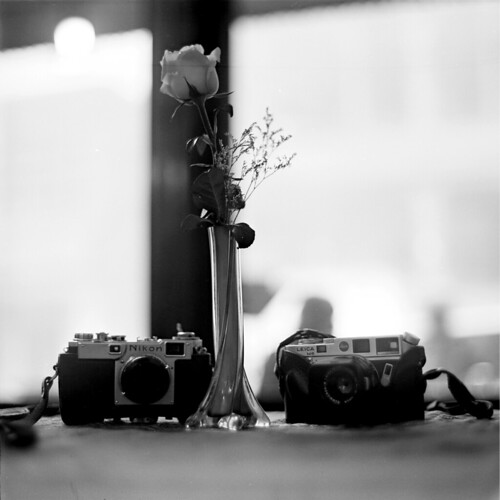 Nikon S2 Black Diel -Leica M6 Slive