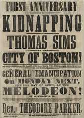 First Anniversary of the Kidnapping of Thomas Sims