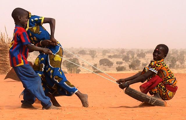 Niger dziewczynki