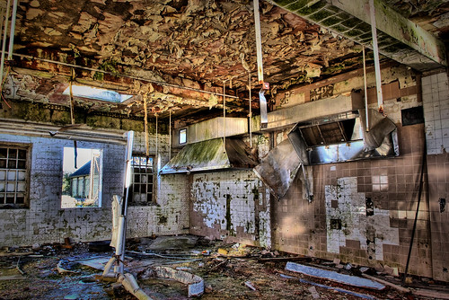 """RAF Binbrook Officers kitchens"" by DigiTaL~NomAd"