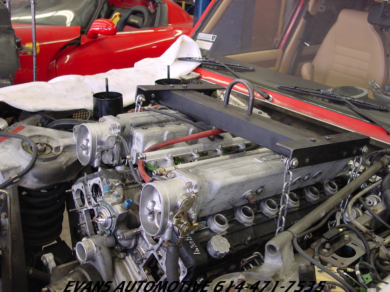 Lamborghini Lm002 Engine A Photo On Flickriver