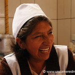 Smile at the Canteen - Tarija, Bolivia
