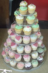 baby shower(0.0), wedding cake(0.0), cake(1.0), buttercream(1.0), cupcake(1.0), sugar paste(1.0), food(1.0), cake decorating(1.0), icing(1.0), pasteles(1.0), pink(1.0),
