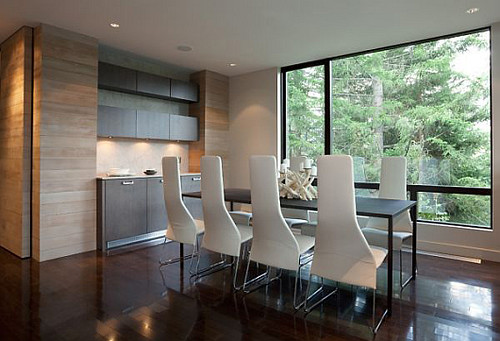 Interieur en design tips op luxe huis in de bergen - Keuken berghuisje ...