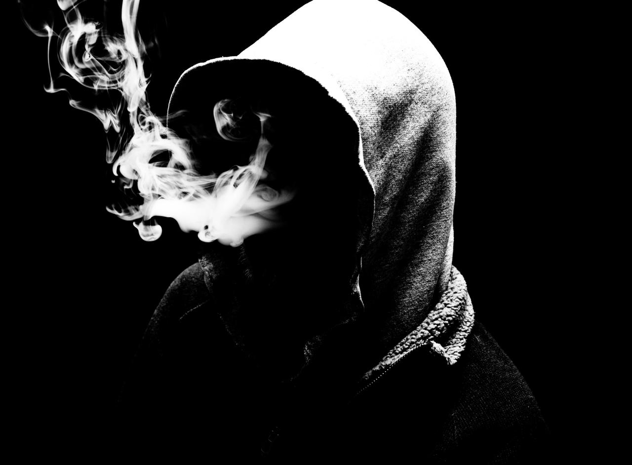 Shisha Smoke Rings Wallpaper