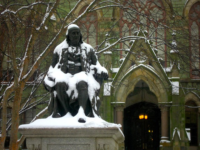 university of pennsylvania ben franklin essay Interested in writing an article for the gazette change of address university of pennsylvania published by benjamin franklin from 1729 to 1748.