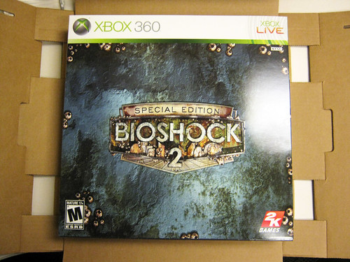 Bioshock 2 special edition xbox 360 | content of the speci… | flickr.