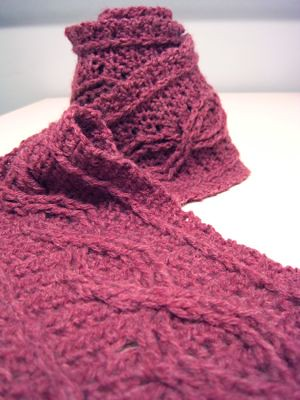 Afghans Pattern | cables and lace crochet and knitting