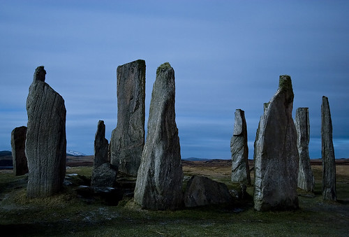 Calainis Stones by Moonlight