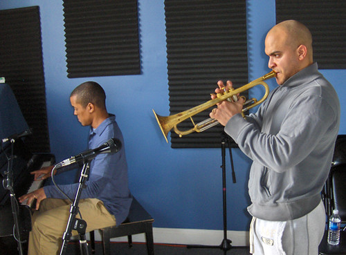 Ron Markham and Irvin Mayfield