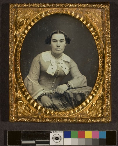 Portrait of unidentified woman
