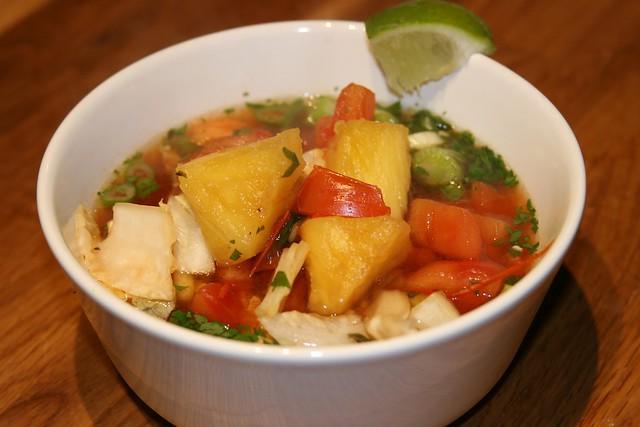 Vietnamese Hot Sour Soup