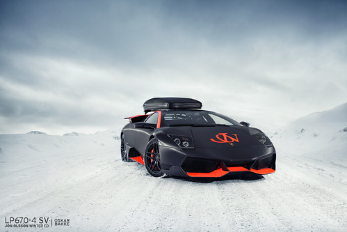 LP670-4 SV - Jon Olsson Winter Edition by oskarbakke
