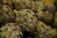 vegetable, flower, artichoke, macro photography, flora, green, produce, food, close-up,
