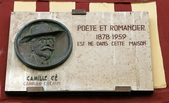 Photo of Camille Cé marble plaque