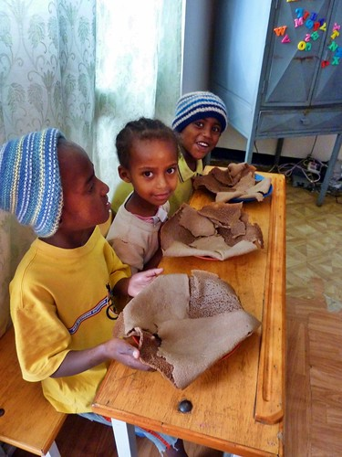 Daniel, Rahel and Abraham, Mercy Home, Ethiopia