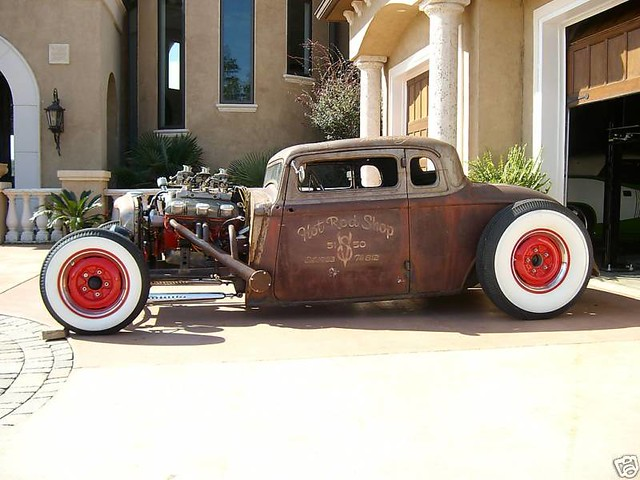 Rat rods 3 a gallery on flickr for 1933 dodge 5 window coupe