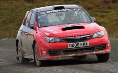 Wales Rally GB 2009 - Tom Haines Subaru Impreza at Myherin
