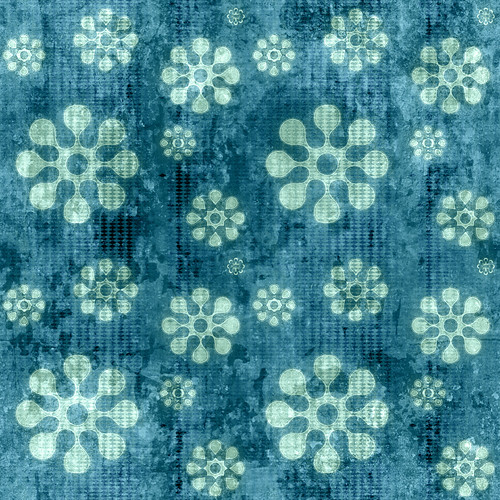 Tileable Grungy Teal Pattern 2