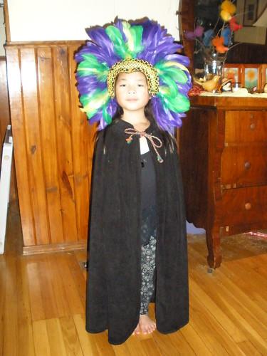 Olivia on Halloween