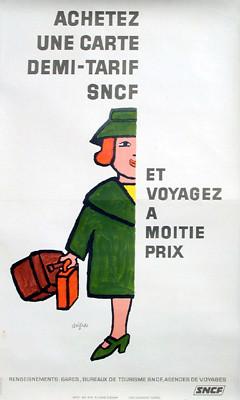 Savignac SNCF Demi-Tarif Woman