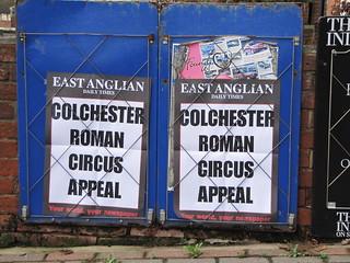 Colchester's Roman Circus の画像. heritage roman circus fundraising colchester appeal camulodunum
