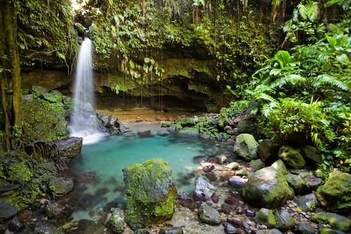 Caribbean Waterfall, Dominica
