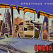 Greetings from Evansville, Indiana - Large Letter Postcard by Shook Photos