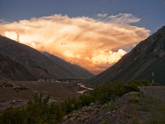 La nube naranja / the orange cloud