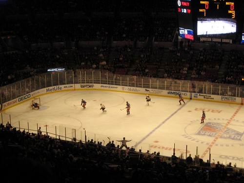 Boston Bruins v. NY Rangers Ice Hockey 2010