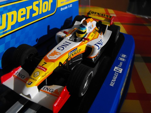 Alonso 2009 F1 slot car