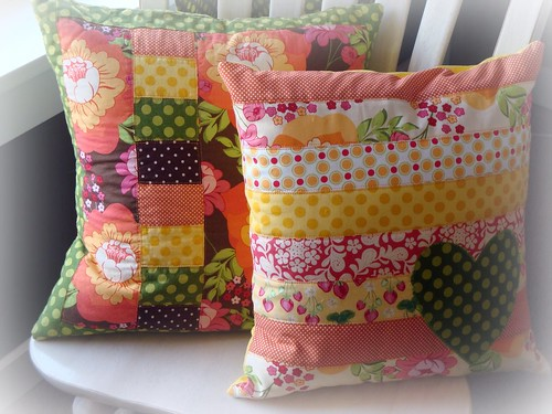 Meadowsweet pillows